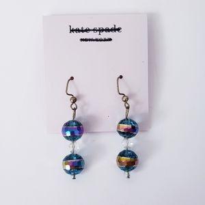Kate Spade Dangle Sparkle Ball Drop Earrings